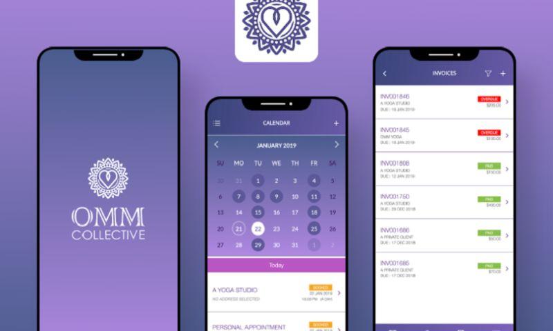 Arka Softwares - Omm Collective- Yoga Teachers App