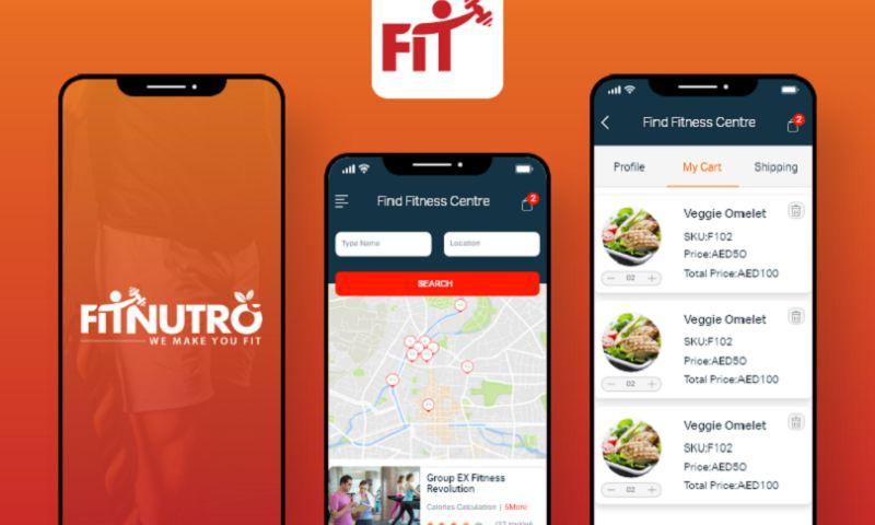 Arka Softwares - Fit Nutro - Fitness App