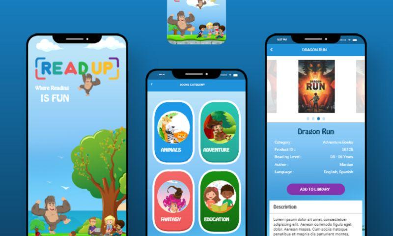 Arka Softwares - Readup - E-learning Education App