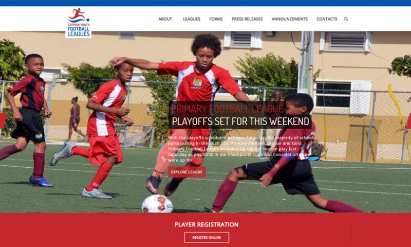 Netclues - The Cayman Islands Youth Football League