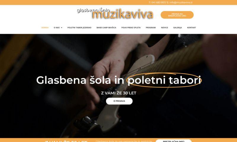 Valter Polh s.p. - Glasbena šola Muzikaviva