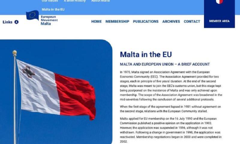 Valter Polh s.p. - European Movement Malta