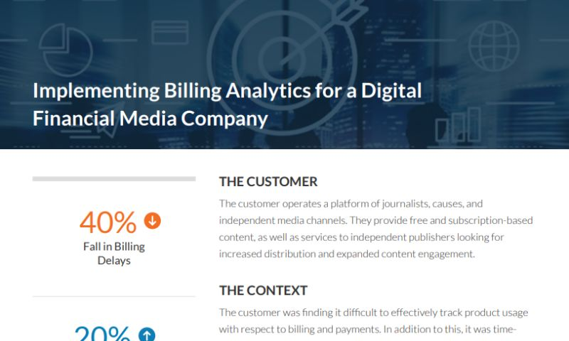 Grazitti Interactive - Implementing Billing Analytics for a Digital Financial Media Company