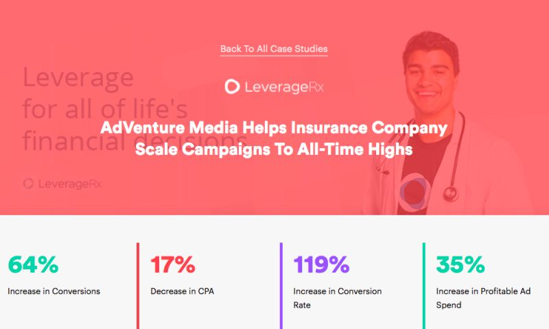 AdVenture Media Group - AdVenture Media Helps Insurance Company Scale Campaigns To All-Time Highs