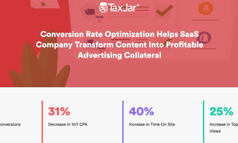 AdVenture Media Group - Conversion Rate Optimization Drives Strategy for TaxJar