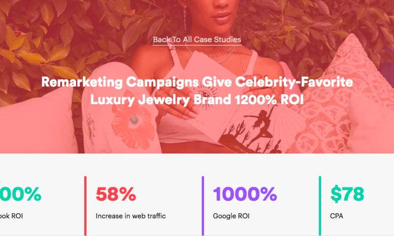 AdVenture Media Group - Remarketing Campaigns Give Celebrity-Favorite Luxury Jewelry Brand 1200% ROI