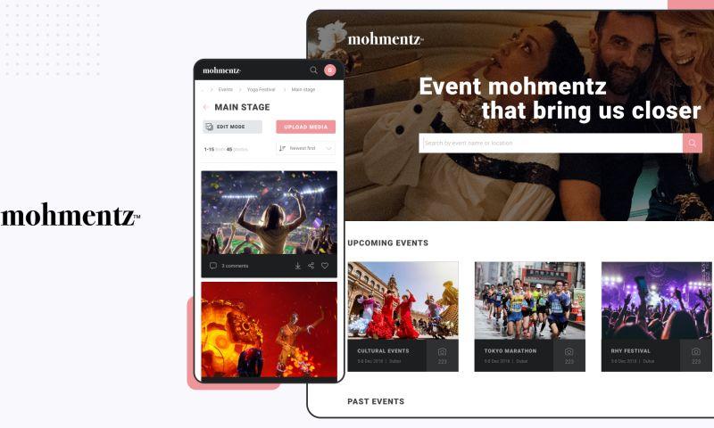 Adam Fard Studio - Mohmentz, An Event Management App