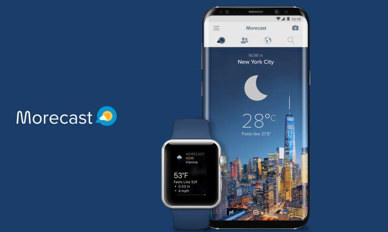 Adam Fard Studio - Morecast, a Weather Forecasting App