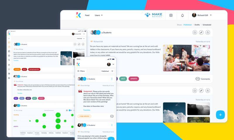 Adam Fard Studio - Kinteract, An EdTech SaaS Solution