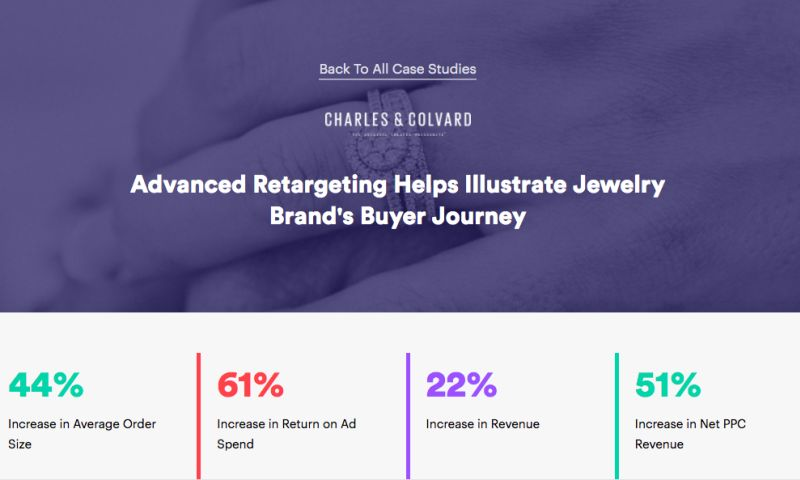 AdVenture Media Group - Advanced Retargeting Helps Illustrate Jewelry Brand's Buyer Journey