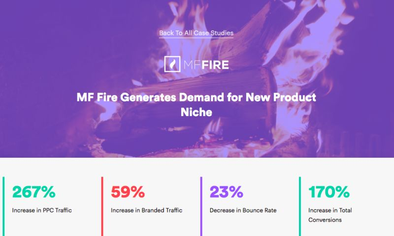 AdVenture Media Group - MF Fire Generates Demand for New Product Niche
