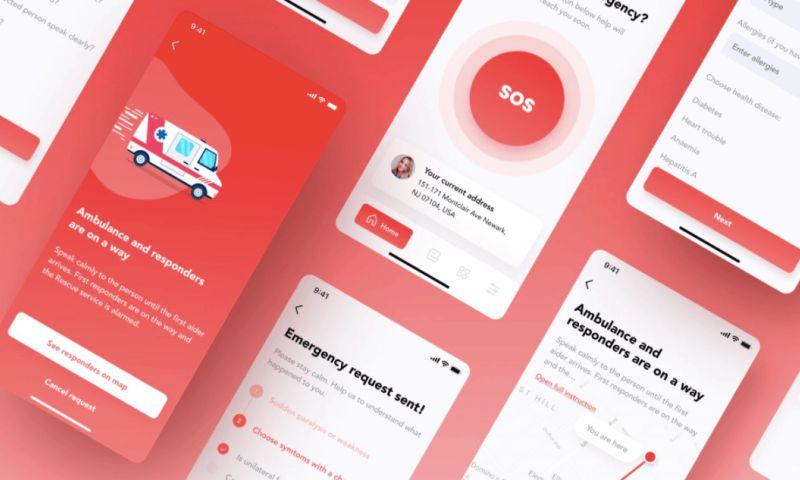 Itexus - Life-saving Emergency App for Ambulance Call