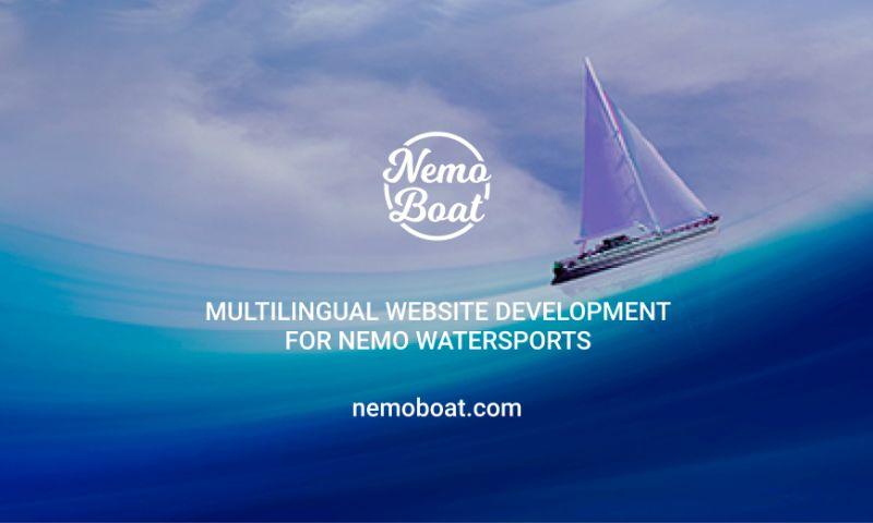 Aurora - Multilingual website development for Nemo Boat