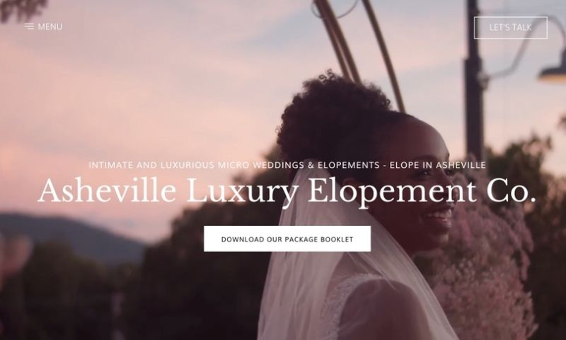 UPQODE - Asheville Luxury Elopement
