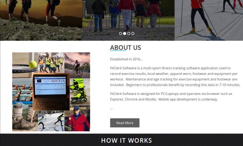 RV Technologies S/W PVT LTD - Fitness Site