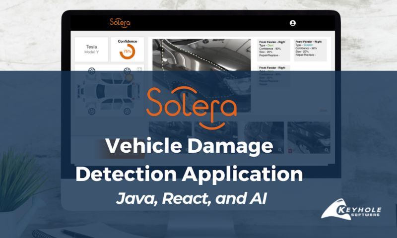 Keyhole Software - Auto Damage Detection App with Java, React, and AI
