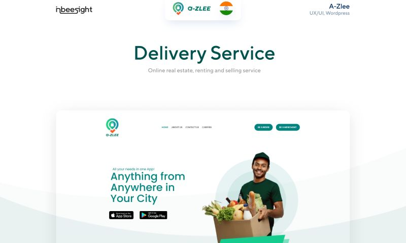 Inbeesight Technologies - A-zlee Delivery