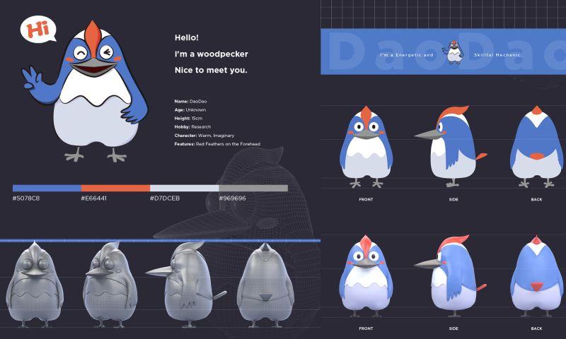 Treefruit - Digital Mascot - DaoDao