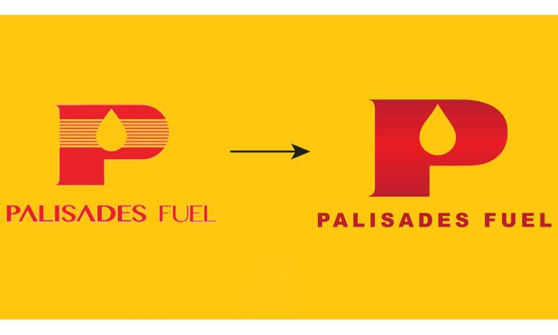 MiLK&BULL - Palisades Fuel Logo Redesign