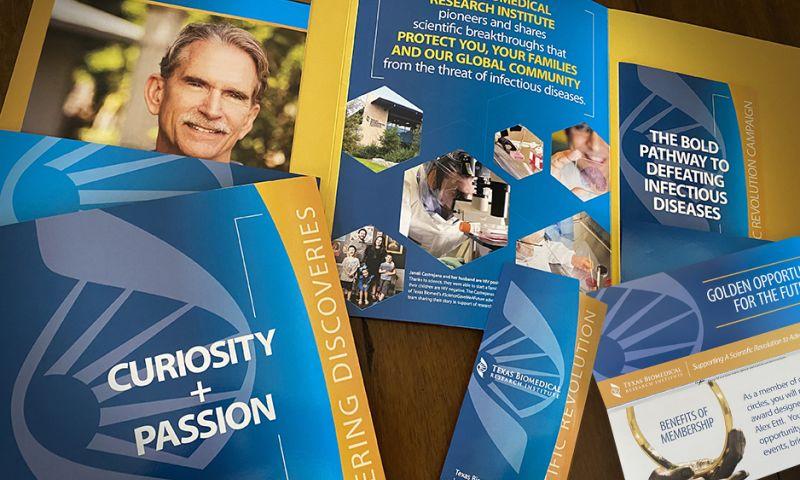 Jeffrey Heinke Design - Texas Biomed Capital Campaign