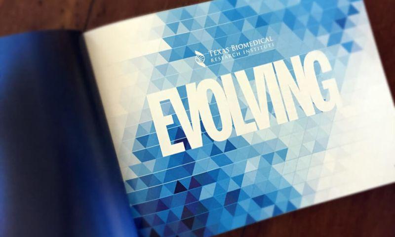 Jeffrey Heinke Design - Texas Biomed Annual Report