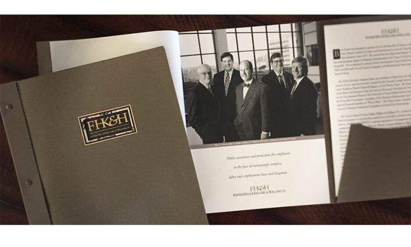 Jeffrey Heinke Design - Law Firm Presentation Kit