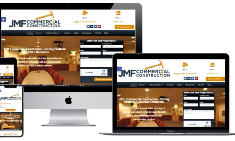JMF Digital Marketing - JMF Commercial Construction