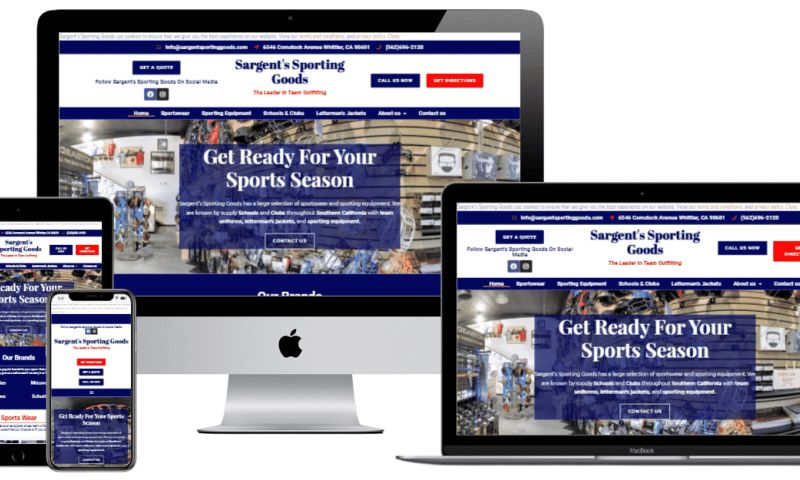 JMF Digital Marketing - Sargent's Sporting Goods