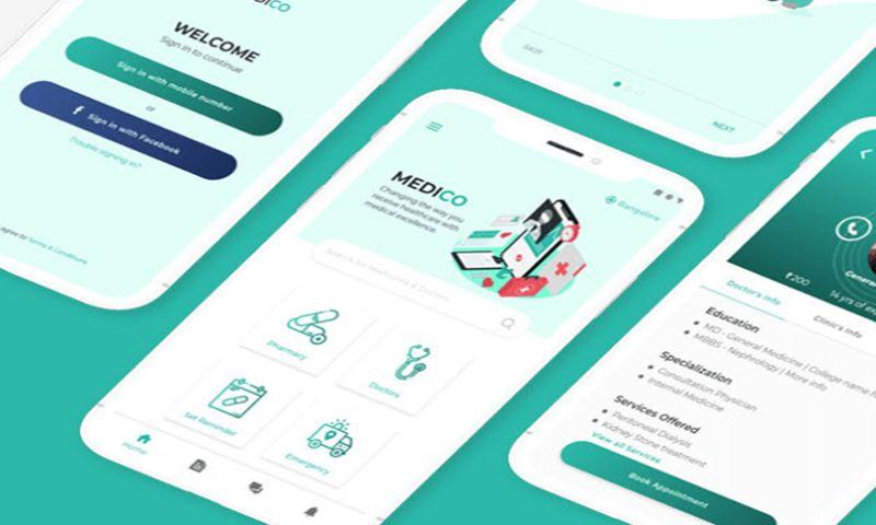 Creative Website Studios - Medico App