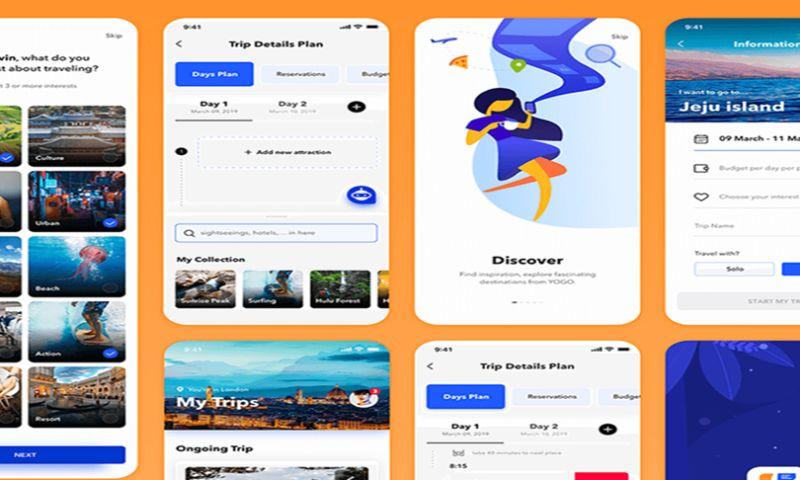 Creative Website Studios - My Trips App