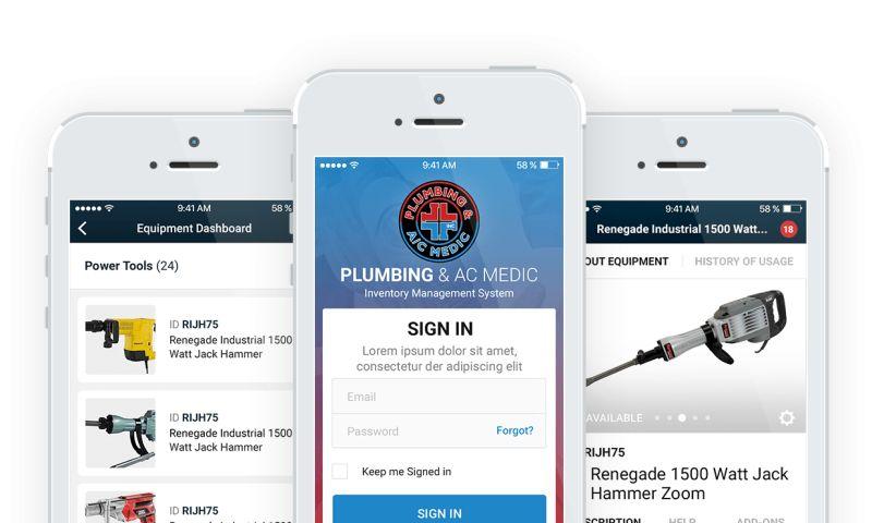 Net-Craft.com - Plumbing Medic Inventory Management