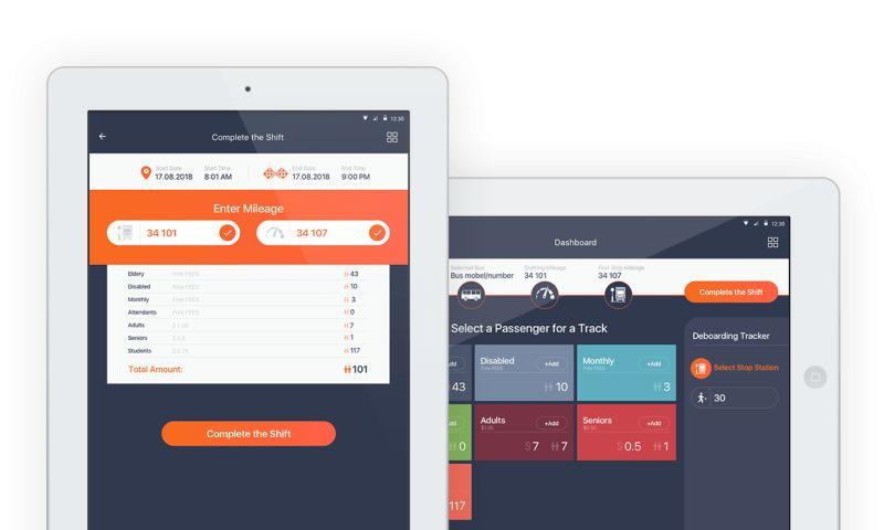 Net-Craft.com - Transit Tracking App
