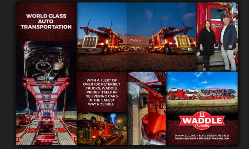 Digital Ink - Waddle Trucking Advertisement