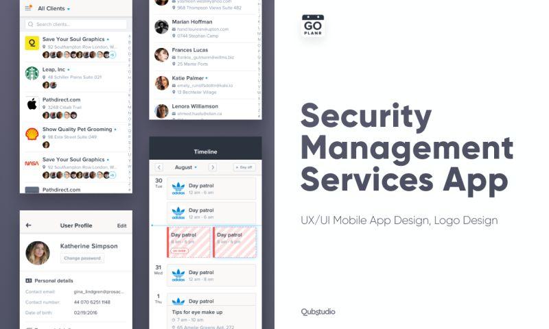 Qubstudio - CG Cover Security