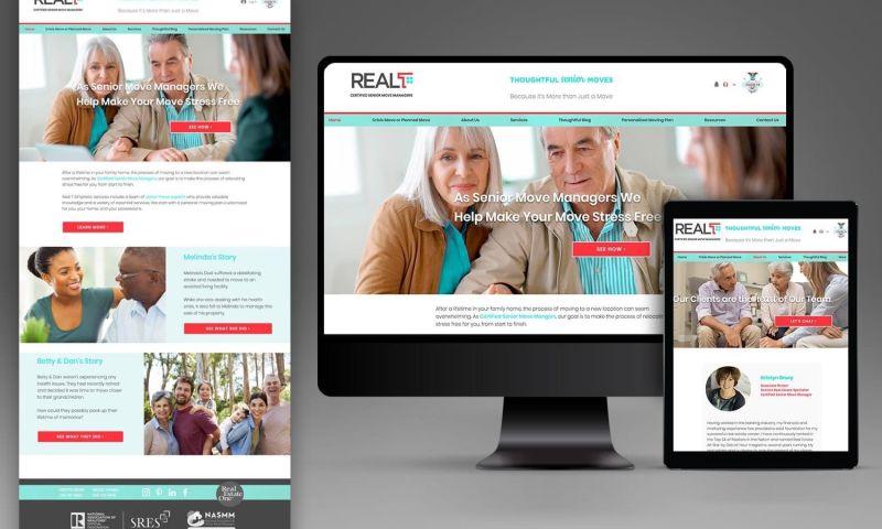 GROW Marketing Agency - Real T Simplistic Real Estate Website Design