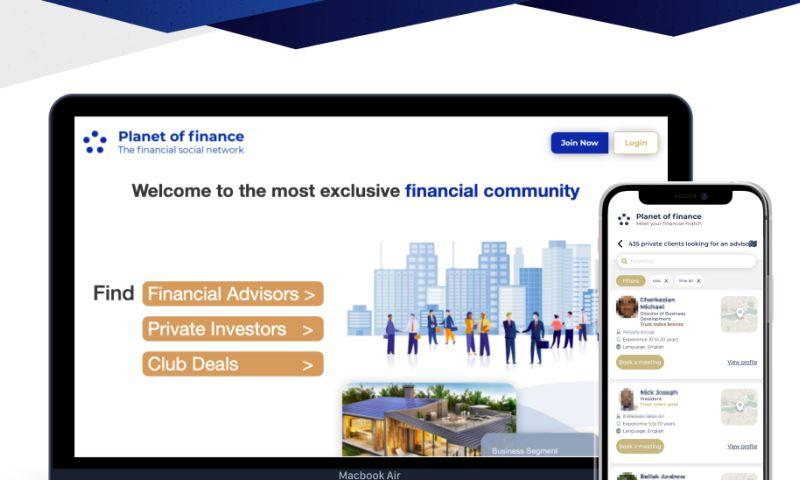 WebSailors - Planet of finance • Financial web app
