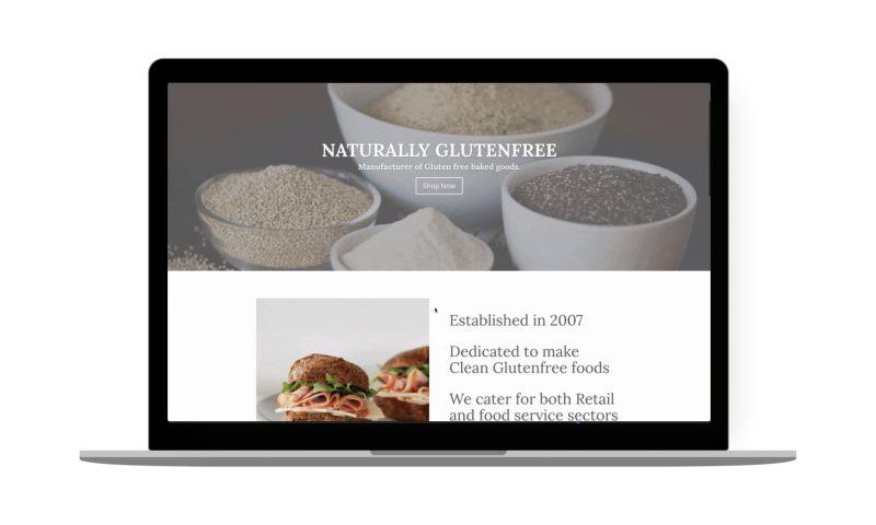 Belov Digital Agency - Naturally Gluten-Free