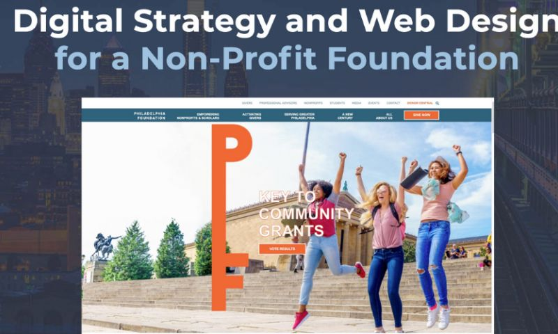 Curotec - Digital Strategy and Web Design for The Philadelphia Foundation