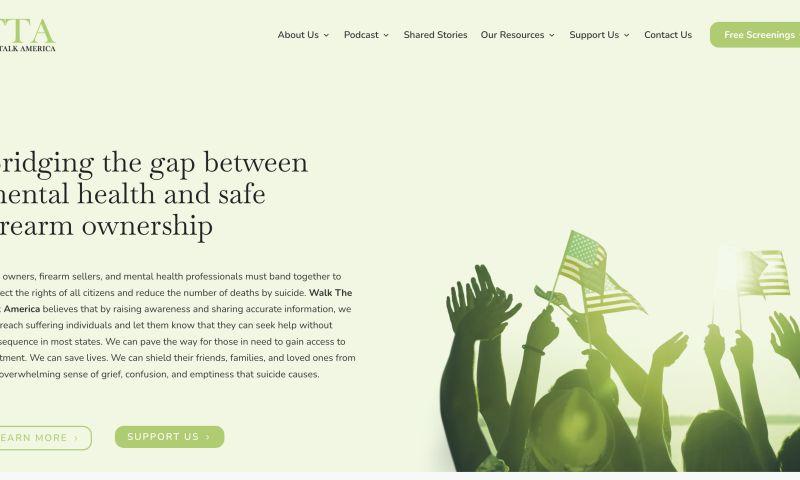 Marketing Stable - Walk The Talk America Website