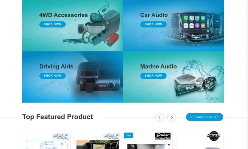 Intuition SofTech - NETO eCommerce website complete redesigning and redevelopment