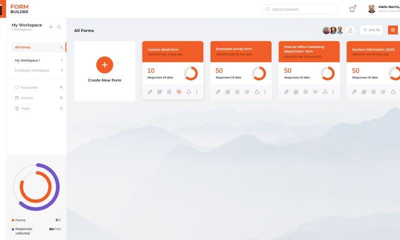 Hexagon IT Solutions - Form Builder