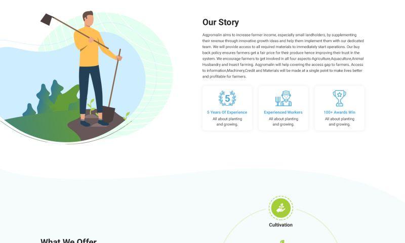 Hexagon IT Solutions - Agro Website Development