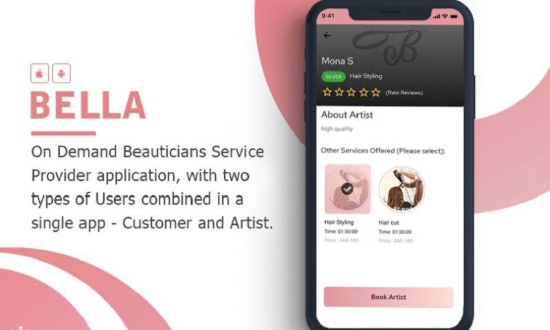 KONSTANT INFOSOLUTIONS - On-Demand Beauticians Service Provider App