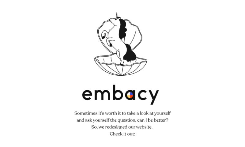 Embacy - Embacy: Website Redesign
