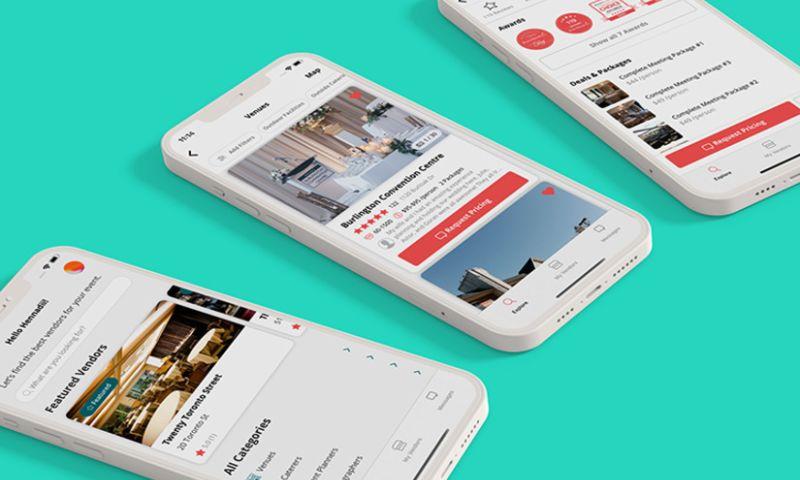TRIARE - Event planning app development