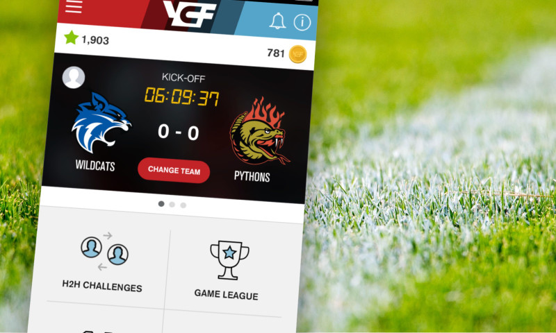 Cantina - Your Call Football - platform & mobile experience