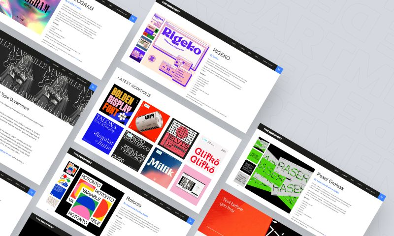 Passionate - Type Department | Independently made typefaces and fonts.