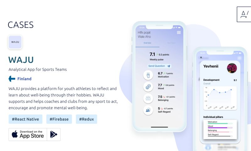 Appvales - WAJU – Analytical App for Sports Teams