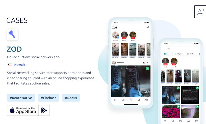 Appvales - Zod – Online auctions social network app