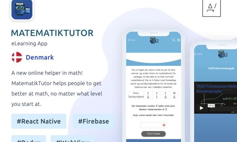 Appvales - MatematikTutor - eLearning App for learning Math
